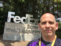 I have reached the core of the universe; OK, it was Fedex's World Headquarters