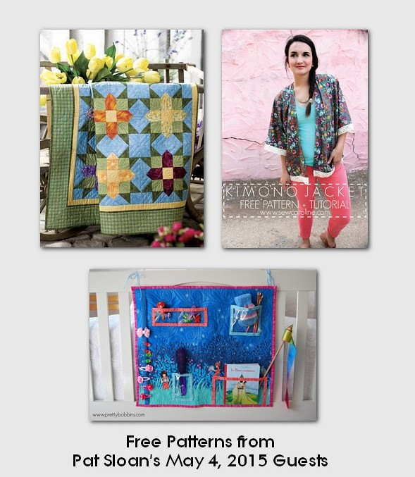 pat sloan may 4 2015  free patterns