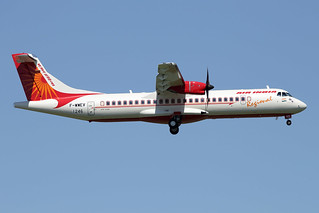 7 mai 2015 - AIR  INDIA  REGIONAL - ATR 72-600   F-WWEV  c/n 1246 - LFBO - TLS