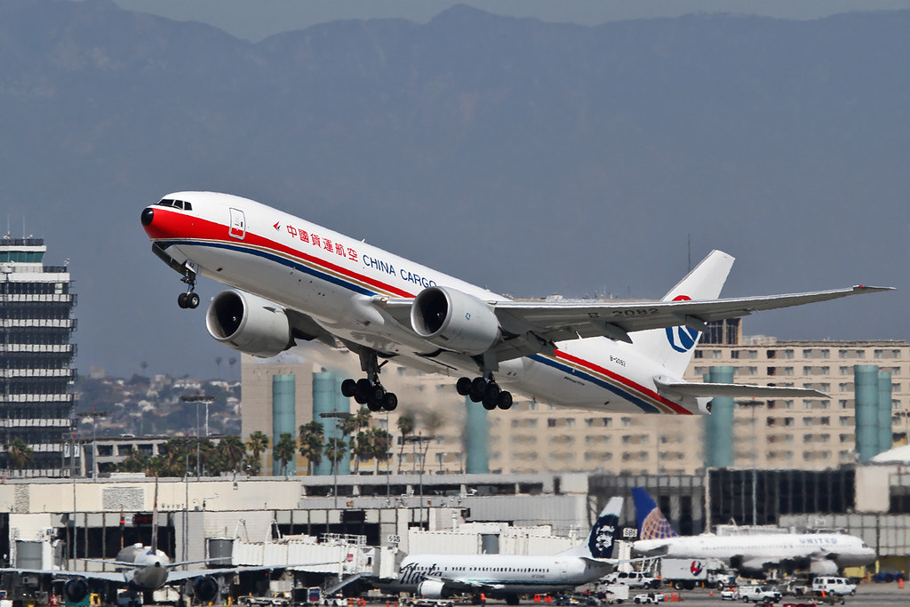 B-2082 - B77L - China Cargo Airlines