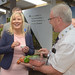 DARD Minister Michelle O'Neill visits Balmoral Show 2015