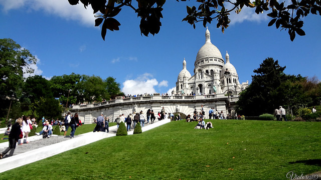 Базилика Сакре-Кёр. Париж. Basilique du Sacré Cœur. Paris. Farnce