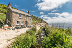 Fishermans cottage Penberth Cove Cornwall