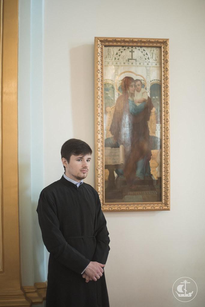 22 мая 2015, Литургия в Николо-Богоявленском морском соборе / 22 May 2015, Divine Liturgy in the St. Nicholas Naval Cathedral