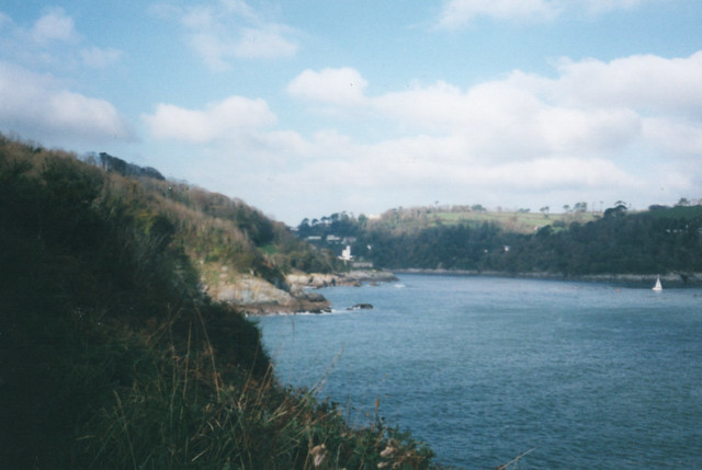 The Dart estuary near Dartmouth