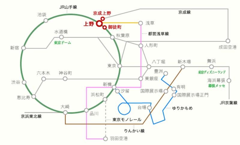 日本飯店附近地鐵