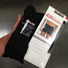 Yumiko and Emily took me shopping for unmentionables at Costco. This means I no longer need to scour the seabed for underwear. I must confess I'll miss the challenge of such a worthy quest.