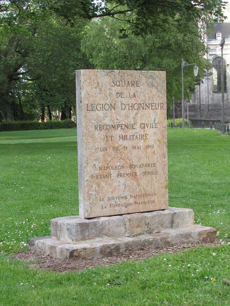 Arras: Jardin de la Légion d'honneur (Pas-de-Calais)