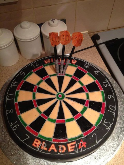 Oneeeeee Hundred and Eighty Cake by Zara Quilter