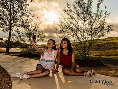 #selfie  Taken last weekend by me at Pearsall Park on the south side of San Antonio at sunrise. The two young ladies are awesome to work with.  #sanantoniophotographer #portrait #photographer #igsanantonio #satx #sanantonio #texassky #sunrise #goldenhour