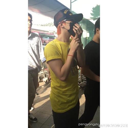 BIGBANG Departure Seoul ICN to Shenzhen 2015-08-07 (5)