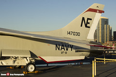 147030 NE-461 - US Navy - Vought F-8K Crusader - USS Midway Museum San Diego, California - 141223 - Steven Gray - IMG_6761