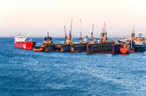 Dry docks, port of Walvis Bay