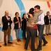 Foto 4.- Abrazo á alcaldesa de Bergondo
