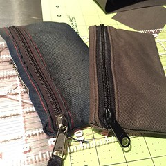 I got this hip pouch at an alley cat years ago. Carry it everyday. Finally I just replaced it with one I made.