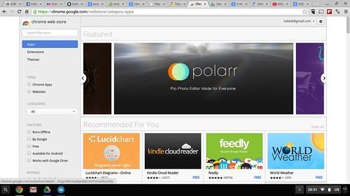 Chrome OS Web Store