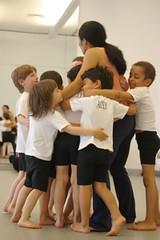 Ailey-bounding boys hug-wallart2
