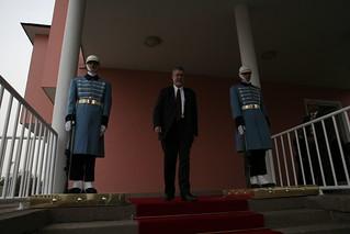David Addington After Meeting with President Abdullah Gül in Ankara, Turkey
