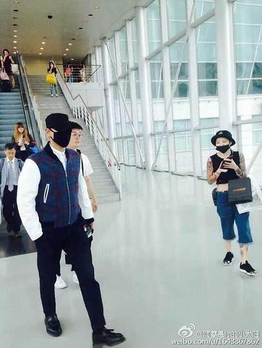 BIGBANG GDTOPDAE arrival Hangzhou 2015-08-25 116
