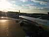 Departing Heathrow