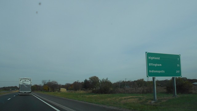 Madison County, IL- I-70, Nikon COOLPIX L30