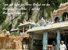 Kuala Lumpur Highlight die Batu Caves