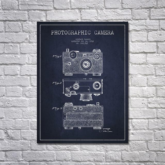 Film Patent Wall Art Prints