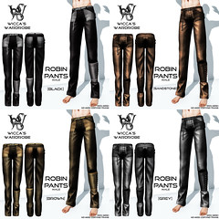 Wicca\'s Wardrobe - Robin Pants (male) All Colors