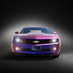 chevrolet(1.0), automobile(1.0), automotive exterior(1.0), wheel(1.0), vehicle(1.0), automotive design(1.0), bumper(1.0), land vehicle(1.0), chevrolet camaro(1.0),