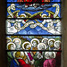 Small photo of Stained glass window, Southwell Minster