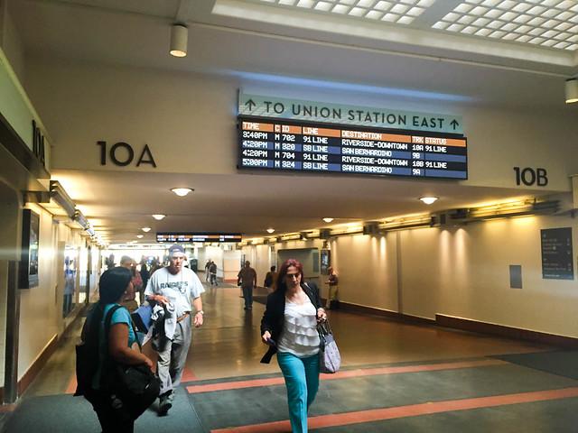 LA Union Station Passageway