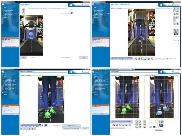 Μερικά screenshots από το TEMPLO video analysis software