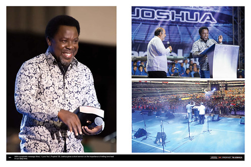With a prophetic message titled, 'I Love You', Prophet T.B. Joshua gives a short sermon on the importance of letting love lead in our daily lives.