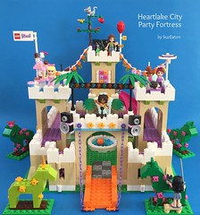 Heartlake City Party Fortress