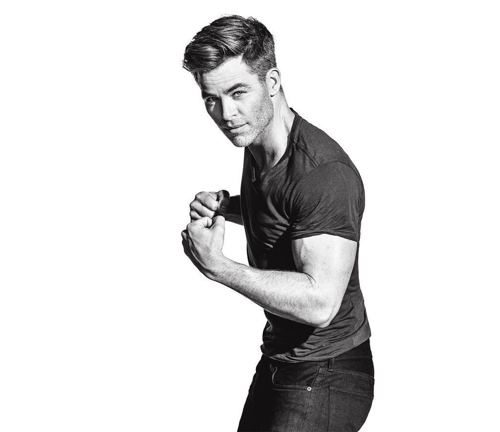 Крис Пайн — Фотосессия для «Men's Fitness» 2016 – 5