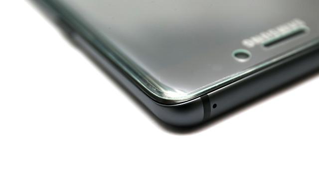 3D 全貼合?玻璃貼?[不推薦] aroose 艾瑞斯 Note 7 9H 防爆強化玻璃保護貼 (3D 曲面滿版全透明) @3C 達人廖阿輝