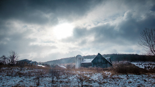 country farm newyork sky snow usa nyc newyorkcity unitedstates lowman us