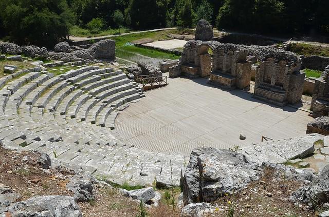 Theatre, Butrint