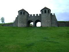 vestigii antice-castrul roman porolissum/ancient remains-roman fort porolissum