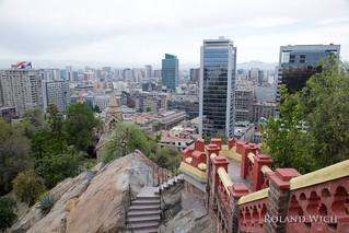 Santiago de Chile - Cerro de Santa Lucia