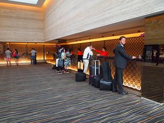 P4189352 マンダリン・オーチャード・シンガポール・ホテル エントランス