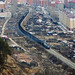 Train through the Town, Heilongjiang Province, China by iesphotography