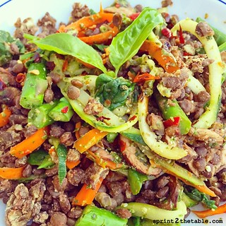 Vegan Spinach Pesto