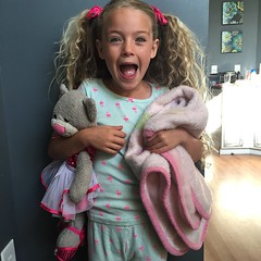 Jammie day at school for Brook! ONE MORE DAY!