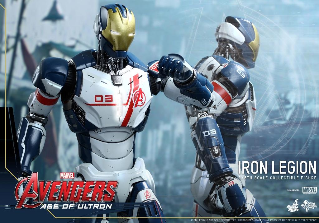 Hot Toys – MMS299 – 復仇者聯盟2:奧創紀元【鋼鐵大軍】1/6 比例 Iron Legion