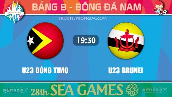 U23 Đông Timo vs U23 Brunei