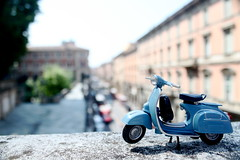 Vespa a Bologna