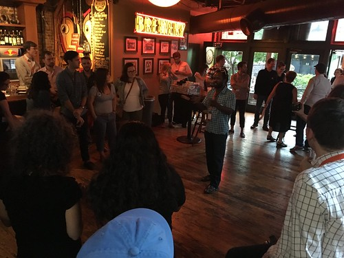 Climate Hawks Vote mixer at Netroots Nation 2016