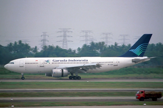 PK-GAD Airbus A.300B4-220 Garuda Indonesia Airways