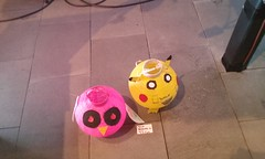 Owl and Pikachu lantern